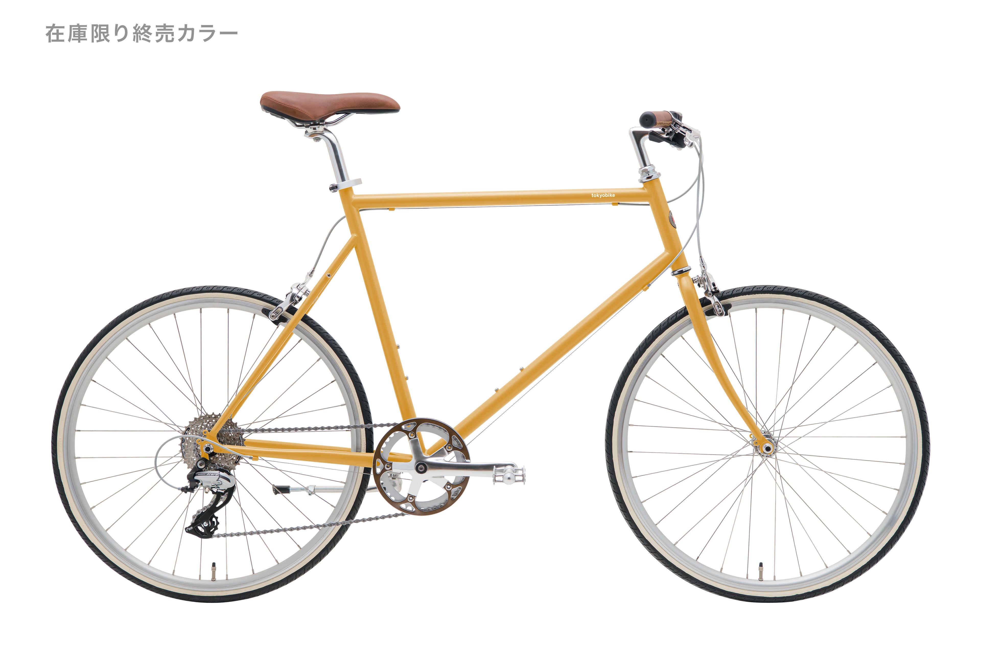 初心者でも扱いやすいおしゃれな街乗り自転車TOKYOBIKE26