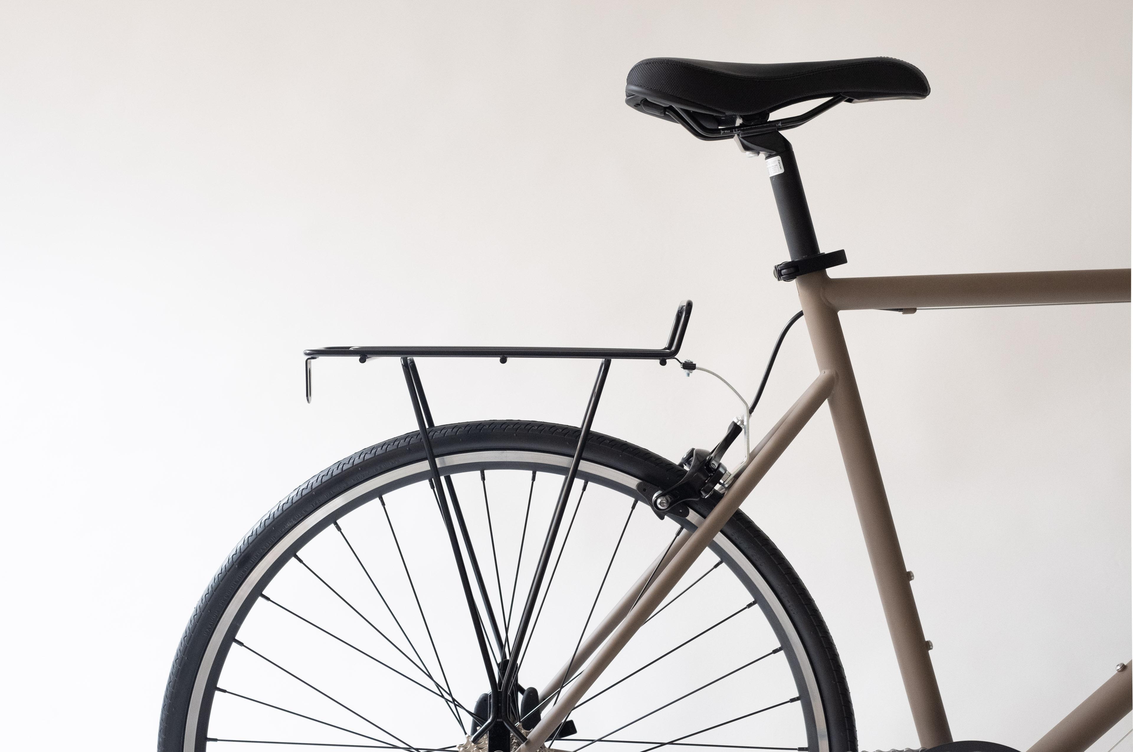 おしゃれな自転車用リアラック