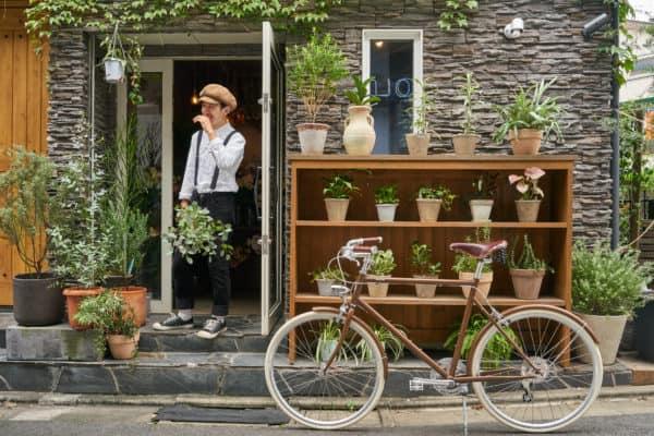 tokyobike ex.flower shop