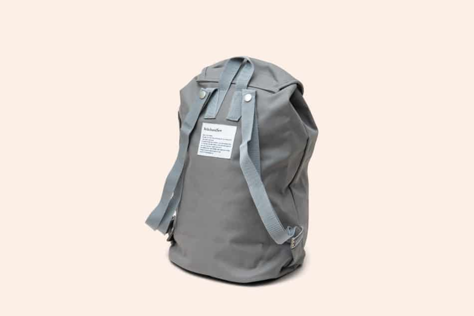 自転車で使いやすいバッグ StitchandSewフラップバッグパック