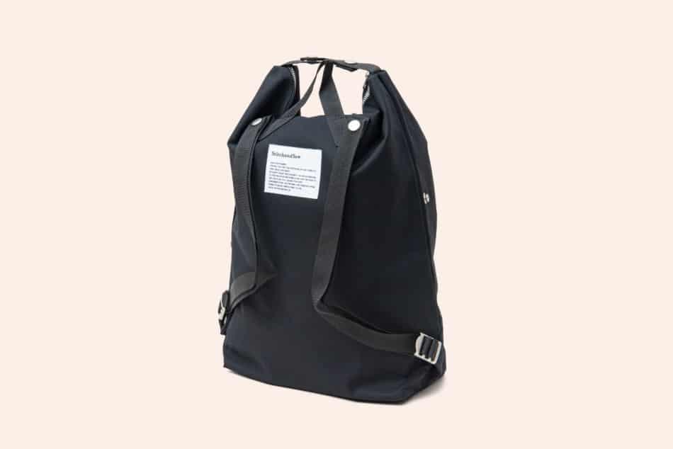 シンプルで美しいStitchandSewスナップバッグパック