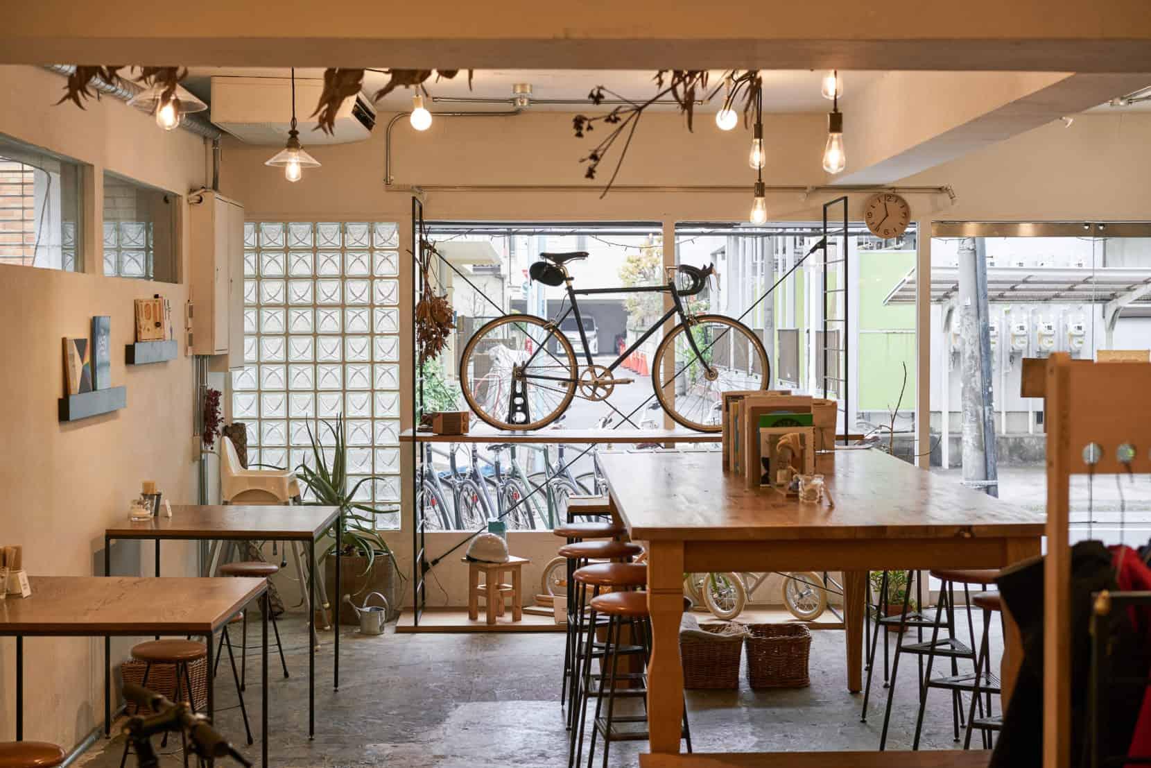 tokyobike 高円寺 cafe coffee onibus