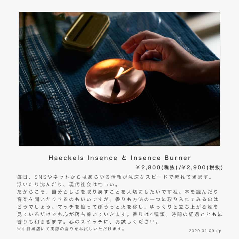 Haeckels Insence Burner
