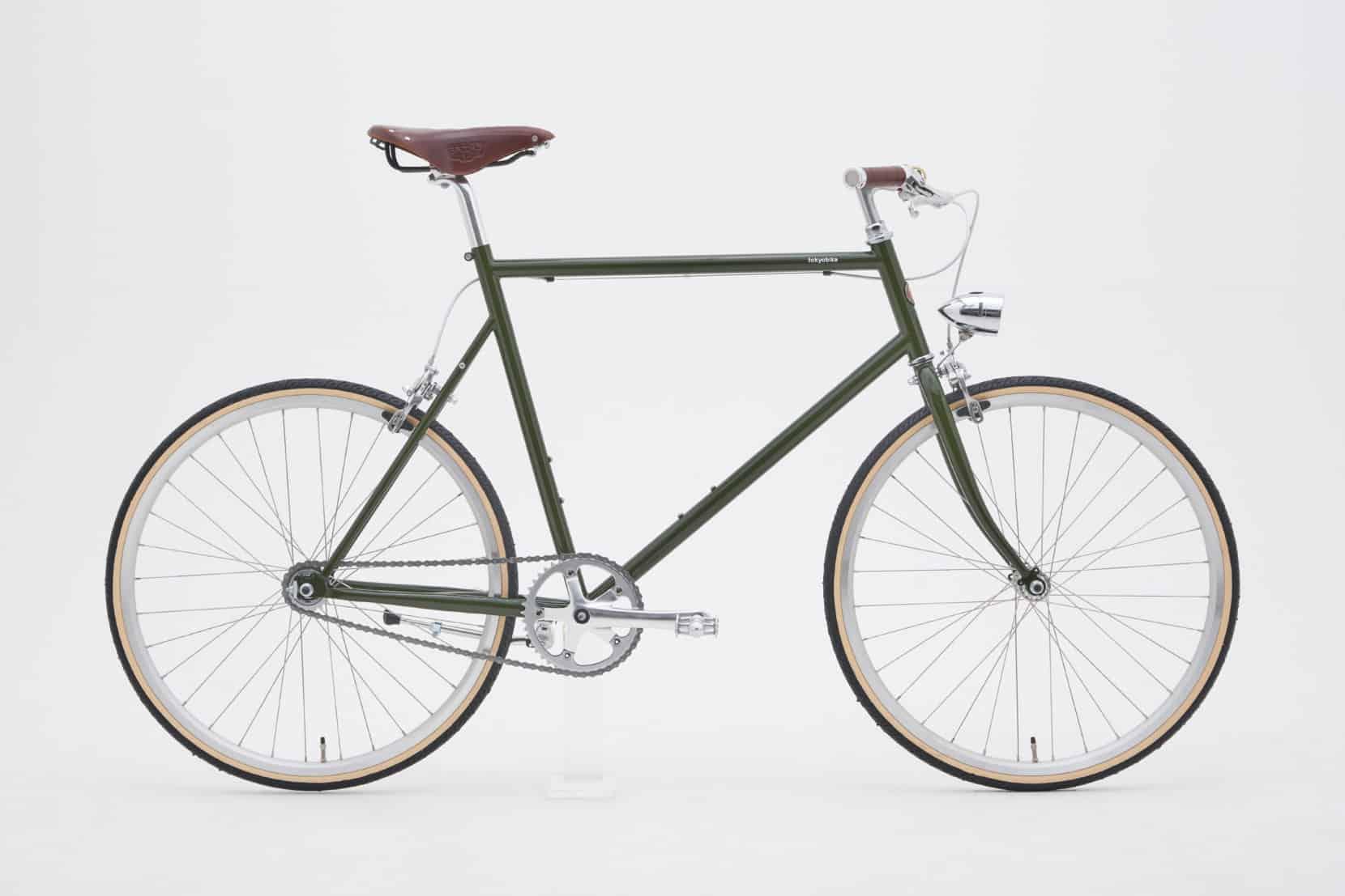 おしゃれなクロスバイクを欲しい人へ。TOKYOBIKE MONOをベースに、映画に出てくるようなクラシカルなカスタマイズを施しました。