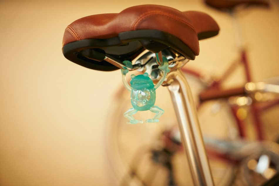 かわいい自転車パーツ ぶらさかえる