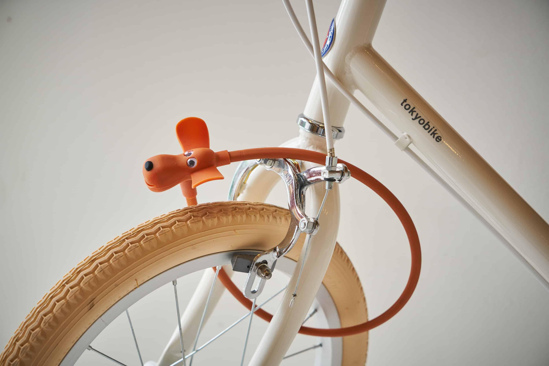 動物モチーフのかわいい自転車パーツ ドギーロック