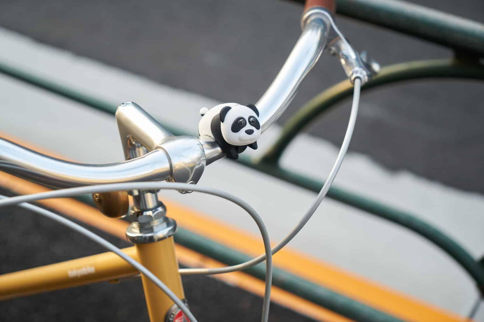 かわいい自転車パーツ ズーニマルライト