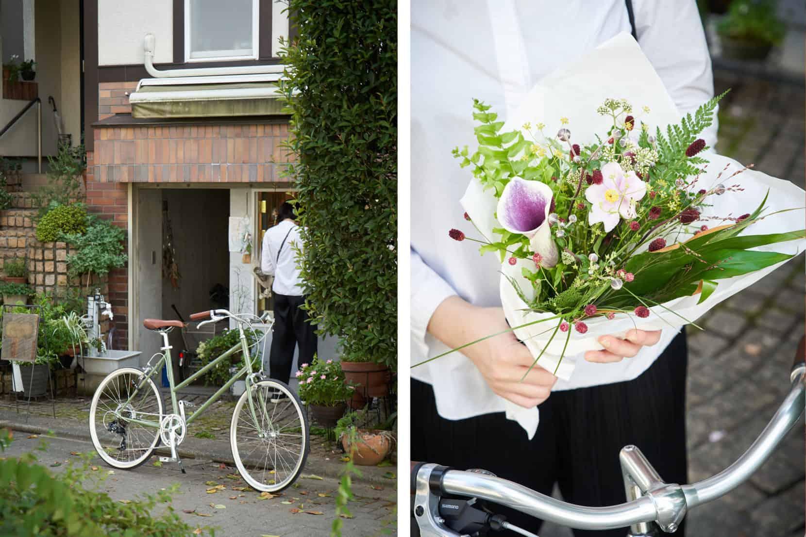 TOKYOBIKE BISOU 26 LIMITED ARTICHOKE で自転車散歩