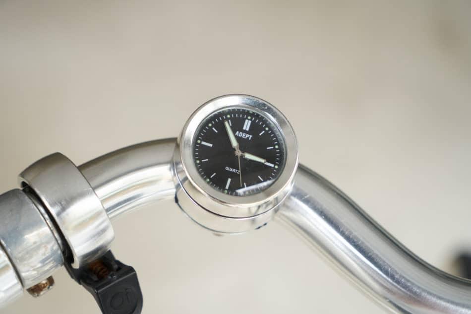 自転車通勤に便利な時計