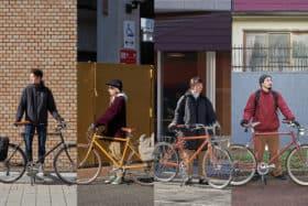 トーキョーバイクスタッフの冬の自転車通勤スタイル