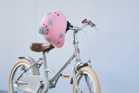 little tokyobike sawako helmet crystal bell