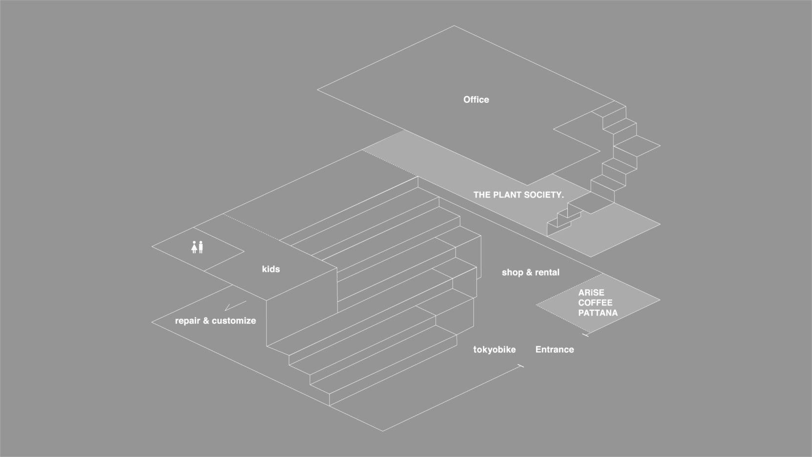 TOKYOBIKE TOKYO floor map
