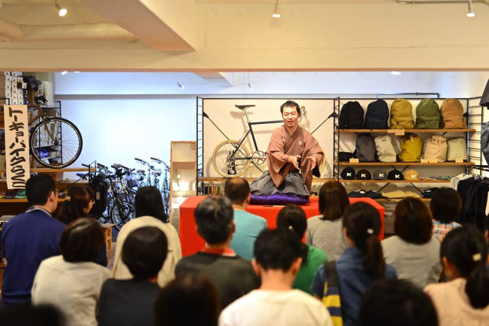 tokyobike shop 高円寺 トーキョーバイク 落語 イベント