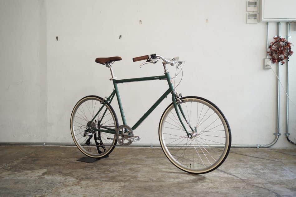 初心者向けおしゃれなクロスバイクのカスタマイズ